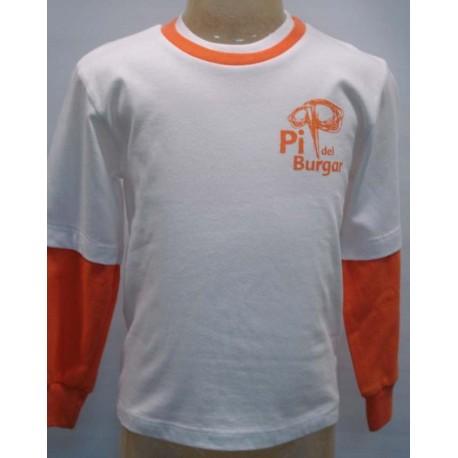 Camiseta manga larga Pi del Burgar