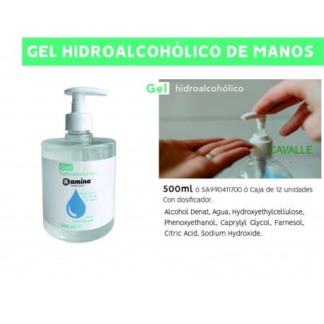 Gel Hidroalcoholic de 500 ml.